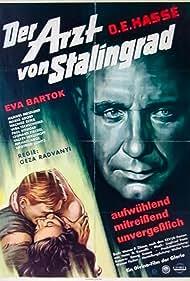 Eva Bartok and O.E. Hasse in Der Arzt von Stalingrad (1958)