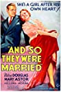 And So They Were Married (1936) Poster
