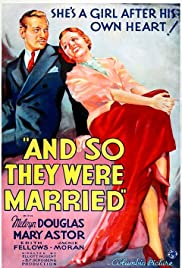 And So They Were Married Poster