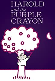 Harold and the Purple Crayon Poster
