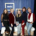 Claire Coffee, Bridget Moloney, Kristin Slaysman, Kate Chamuris, and Valerie Steinberg at an event for Blocks (2020)