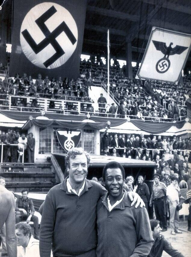 Michael Caine and Pelé in Victory (1981)