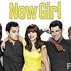 Zooey Deschanel, Max Greenfield, Hannah Simone, Lamorne Morris, and Jake Johnson in New Girl (2011)