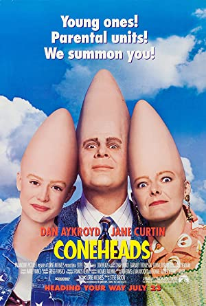 Coneheads Poster Image