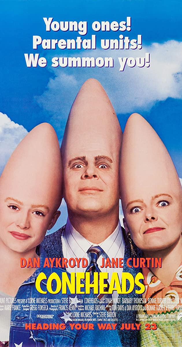 Subtitle of Coneheads