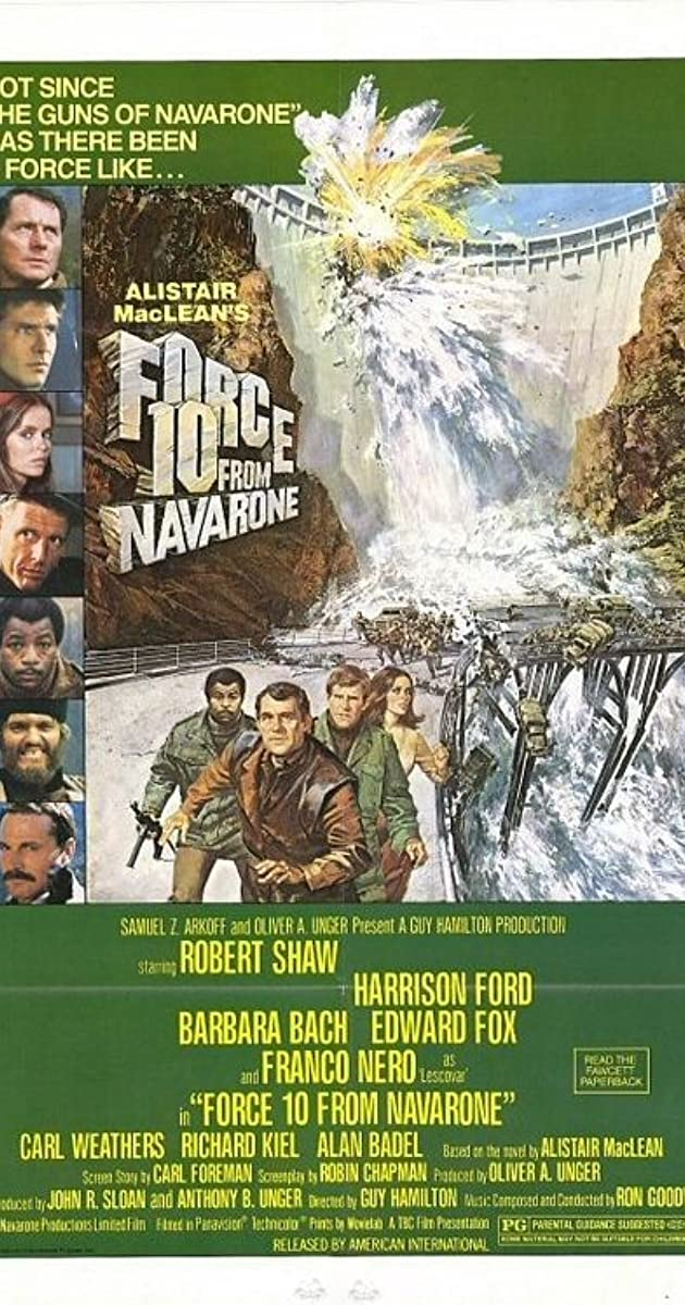Subtitle of Force 10 from Navarone