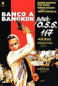 Pier Angeli, Robert Hossein, and Kerwin Mathews in Banco à Bangkok pour OSS 117 (1964)