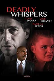 Ving Rhames, Tony Danza, and Heather Tom in Deadly Whispers (1995)
