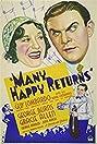 Many Happy Returns (1934) Poster