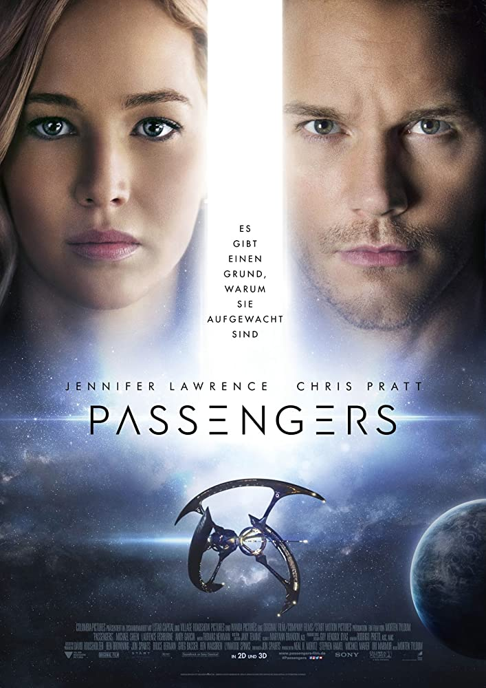 Passengers (2016) Hindi Dubbed