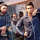 Ranveer Singh and Siddhant Chaturvedi in Gully Boy (2019)