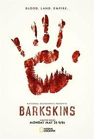 Matthew Lillard and Tallulah Haddon in Barkskins (2020)