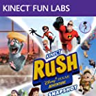 Edward Asner, Craig T. Nelson, Owen Wilson, Elizabeth Daily, Jim Hanks, Patton Oswalt, Sarah Vowell, Larry the Cable Guy, Mike MacRae, and Raymond Ochoa in Kinect Rush: A Disney-Pixar Adventure (2012)