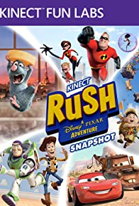Primary photo for Kinect Fun Labs: Kinect Rush - A Disney Pixar Adventures: Snapshot