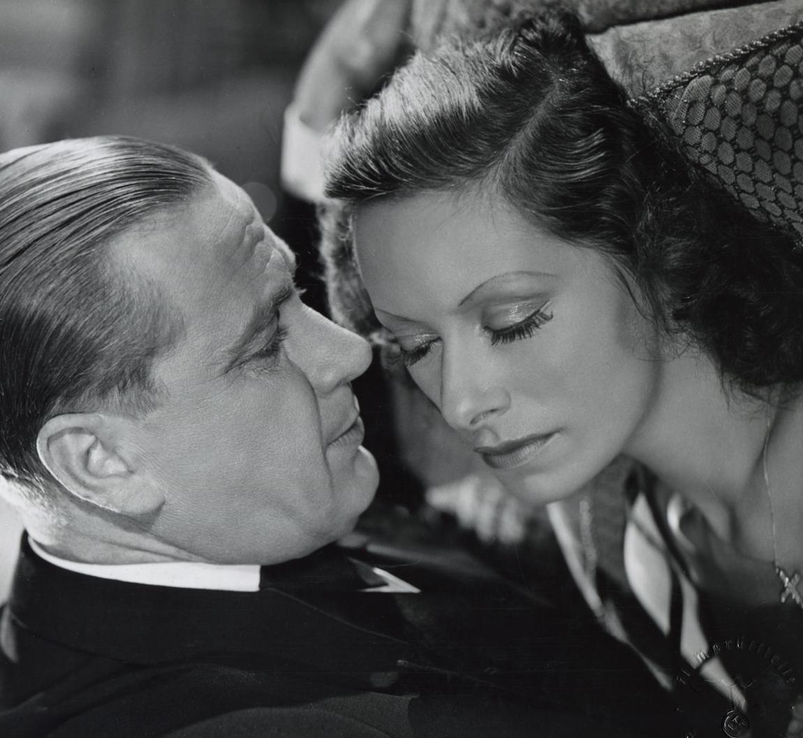 Karl Ludwig Diehl and Lili Muráti in Was geschah in dieser Nacht (1941)