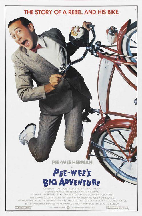 Paul Reubens in Pee-wee's Big Adventure (1985)