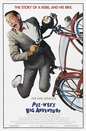 Pee-wee's Big Adventure poster