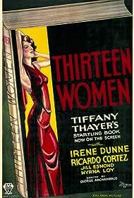 Thirteen Women (1932) Poster - Movie Forum, Cast, Reviews