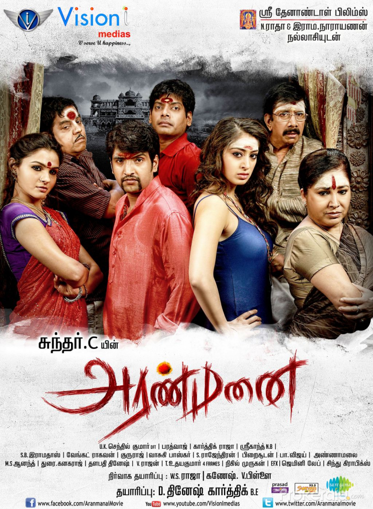 Rajmahal (Aranmanai) 2020 Hindi Dubbed 1080p HDRip 2350MB Download