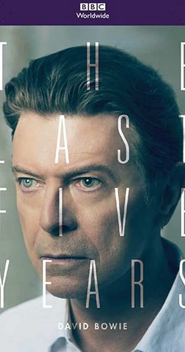 Subtitle of David Bowie: The Last Five Years