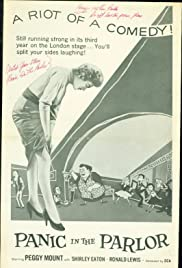 Panic in the Parlor Poster