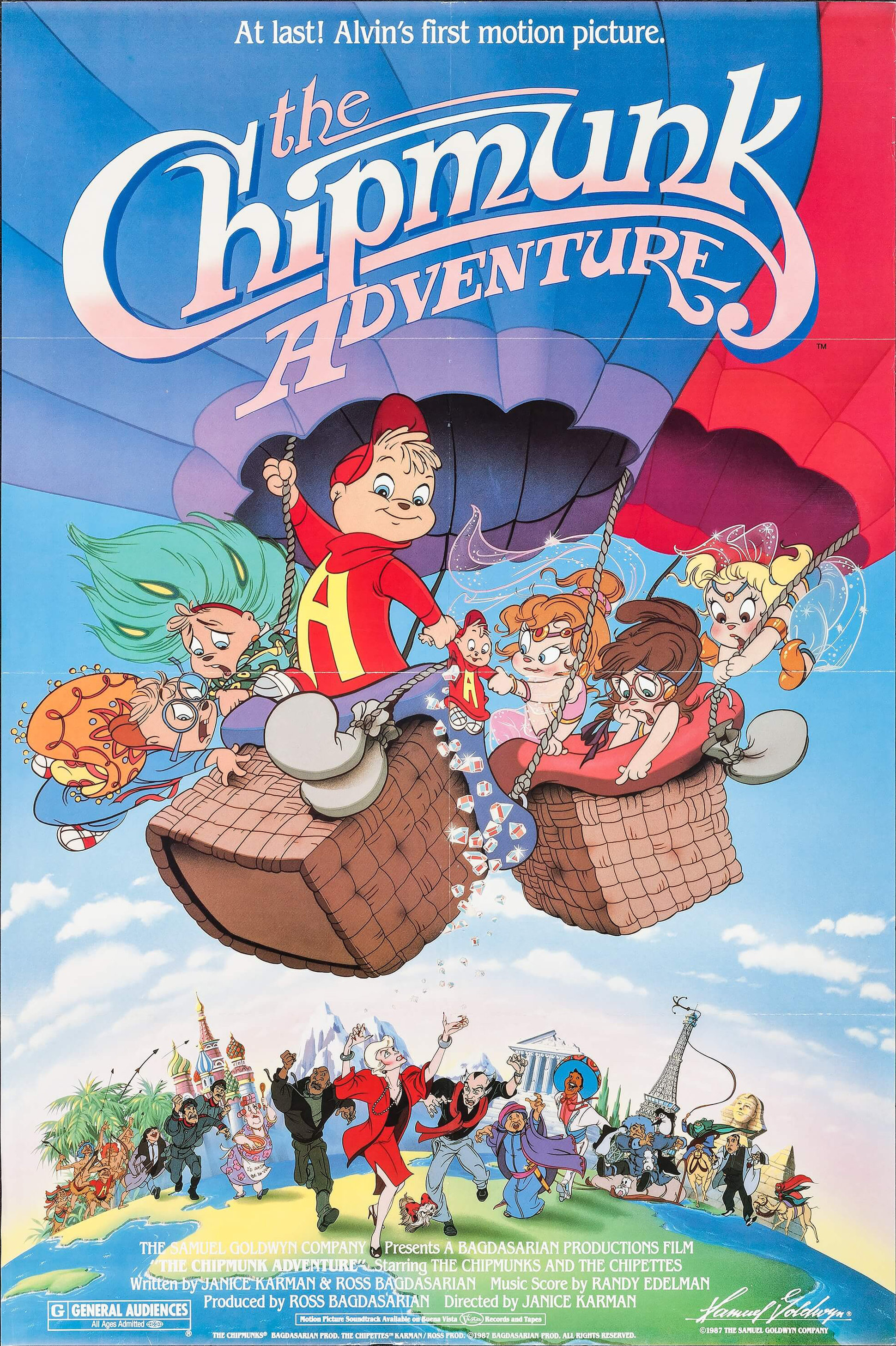 The Chipmunk Adventure 1987 Imdb