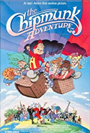 The Chipmunk Adventure Poster
