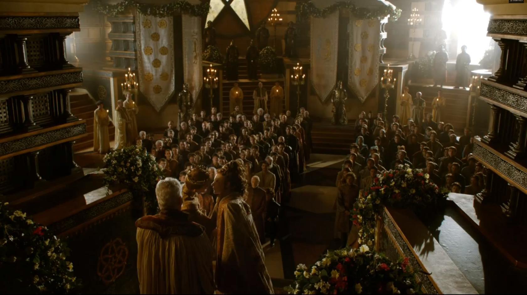 Charles Dance, Peter Dinklage, Jack Gleeson, Natalie Dormer, Dean-Charles Chapman, and Finn Jones in Game of Thrones (2011)