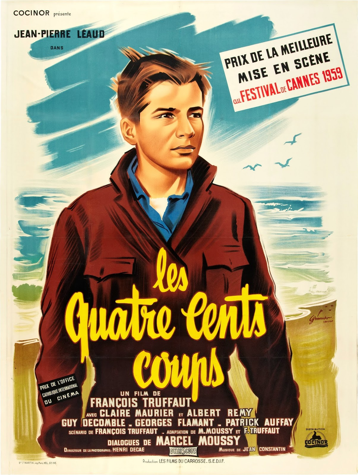 Image result for the 400 blows poster