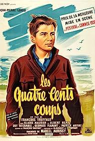 François Truffaut and Jean-Pierre Léaud in Les quatre cents coups (1959)