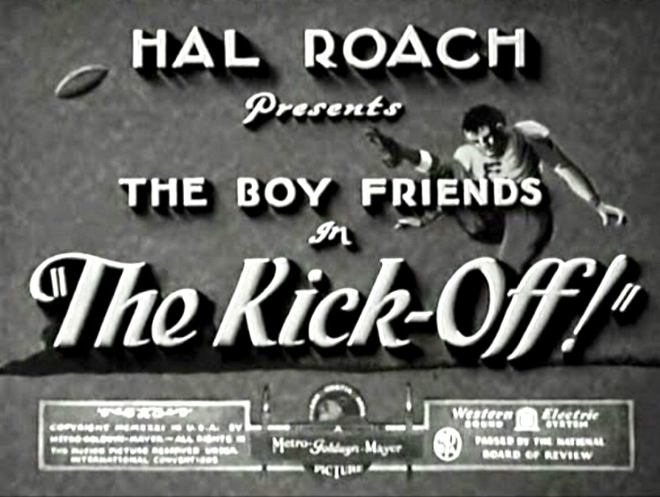 The Kick-Off! (1931)