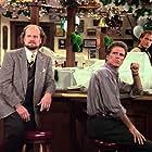 Woody Harrelson, Ted Danson, and Kelsey Grammer in Cheers (1982)
