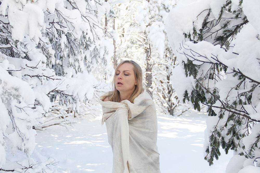 snow·bound
