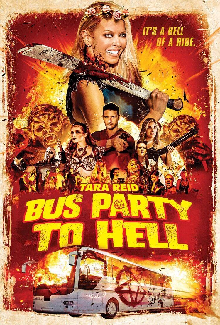 Party Bus To Hell (2017) Hindi Dubbed