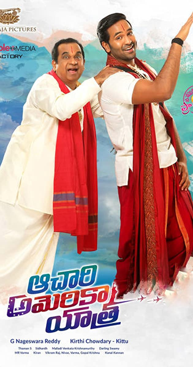 Achari America Yatra 2019 Hindi Dubbed 1080p HDRip 1.5GB Free Download