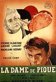 La dame de pique Poster