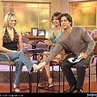 Lisa Rinna, Josie Bissett, and Ty Treadway in SoapTalk (2002)