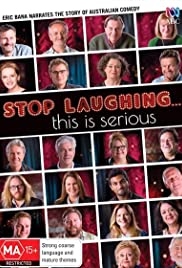 Stop Laughing... This Is Serious Poster