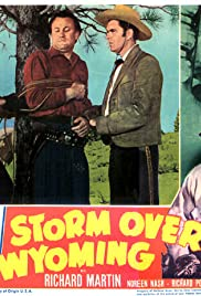 Storm Over Wyoming Poster