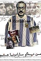 Man Diego Maradona hastam
