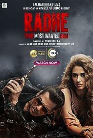 Jackie Shroff, Salman Khan, and Disha Patani in Radhe (2021)