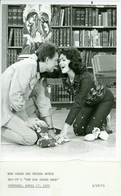 Bob Crane and Trisha Noble in The Bob Crane Show (1975)