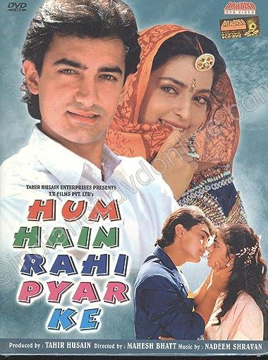 Poster of Hum Hain Rahi Pyar Ke 1993 Full Hindi Free Download Watch Online In HD Movie Download 480p HDRip