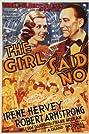 The Girl Said No (1937) Poster
