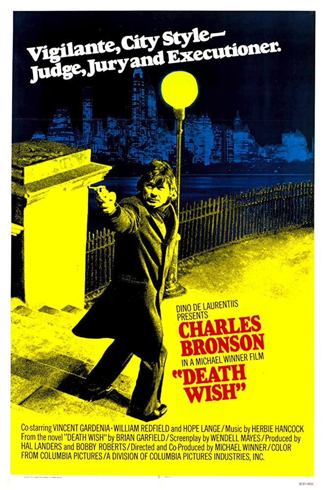 Charles Bronson in Death Wish (1974)