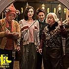 Eric Tsang, Ruitao Xie, Jia Song, Li Ma, and Haiyu Zhang in Yang Guang Bu Shi Jie Fei (2021)