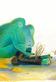 La grenouille aux souliers percés (Robert Desnos) Poster