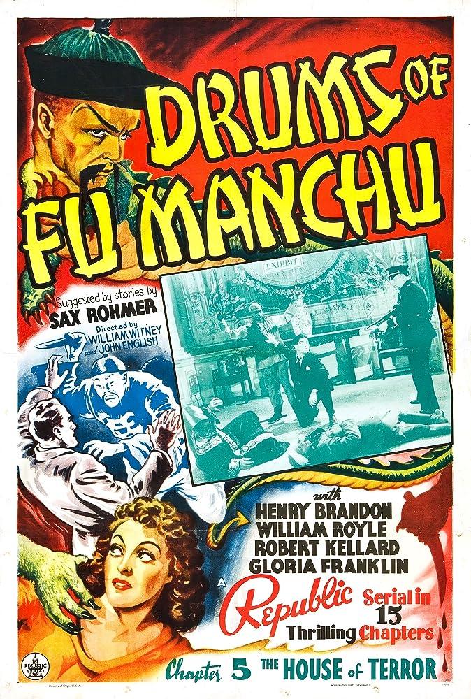 Henry Brandon, Robert Kellard, William Royle, and Luana Walters in Drums of Fu Manchu (1940)