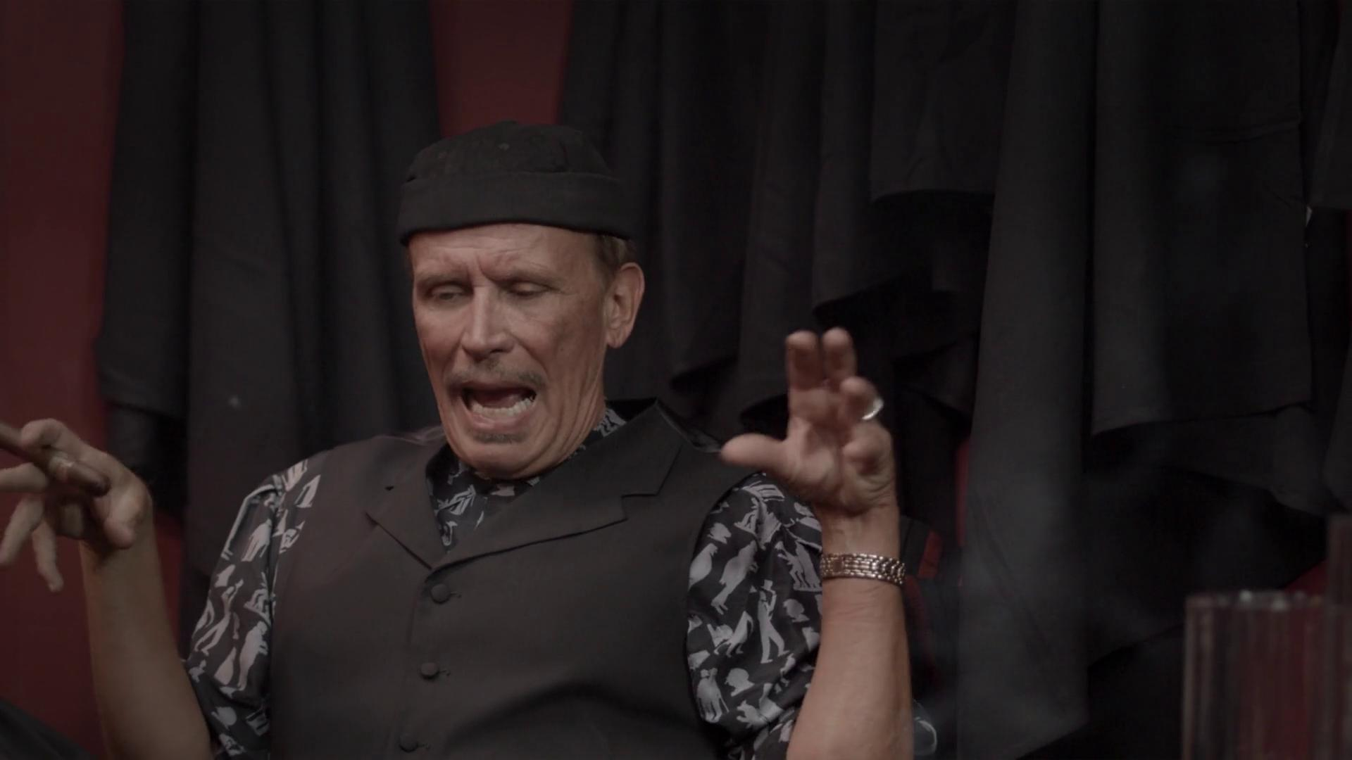 Peter Weller in Once Fallen (2010)