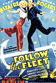 Fred Astaire and Ginger Rogers in Follow the Fleet (1936)